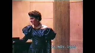 Fauré, Offenbach, Poulenc, Puccini…Récital Marie Cazès et Marie-Jeanne Séréro - 1995 Salle Cortot