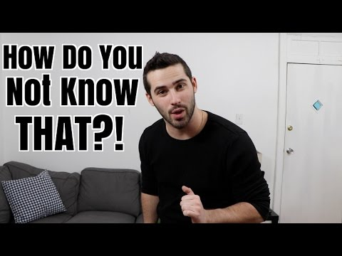 How Do You Not Know That?!  Youtube