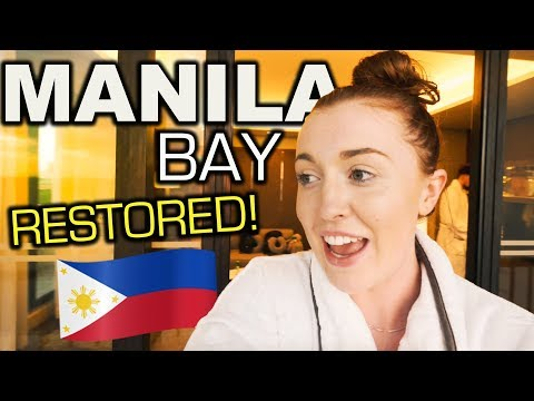 HUGE MANILA BAY CLEAN UP! Best Sunset In Philippines?