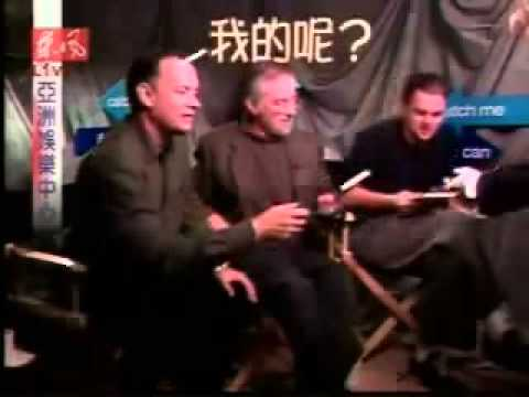 Leehom Wang interviews Spielberg, Hanks & DiCaprio (2002)
