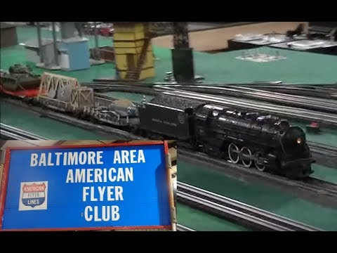 2019 Great Scale Train Show Baltimore Area American Flyer S Gauge