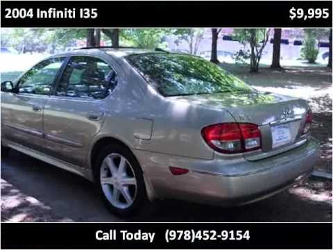 2004 Infiniti I35 Used Cars Lowell MA