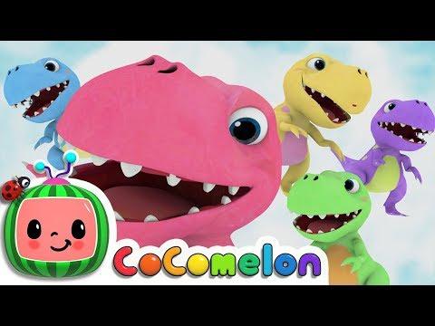 Five Little Dinosaurs  - ABCkidTV