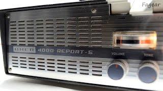 UHER 4000 Report-S на разных скоростях