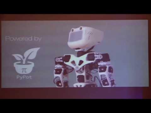 Poppy dans l'enseignement supérieur | RoboEduc16 | Jean-Luc Charles (professeur ENSAM Bordeaux)