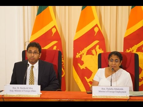Joint Press Conference by Actg. Foreign Minister & Minister of Foreign Employment: 23 December 2015