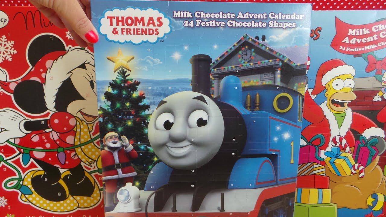 Amazon Uk Chocolate Advent Calendar Thomas The Tank