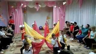 Танец с тканью