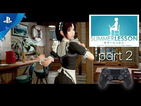 SUMMER LESSON: Hikari Miyamoto / Ps4 / PSVR / part2 /german