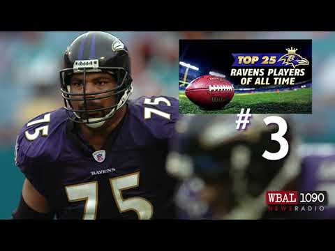 The Top 25 Ravens Players Of All Time # 3 Jonathan Ogden