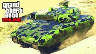 ROBO EL NUEVO SUPER TANQUE - GTA V ONLINE (GTA 5) - Doomsday Heist DLC (Dia del Juicio Final)