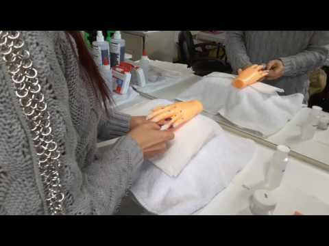 Vuu's Beauty School: Practical Nails Exam - Nail Tips