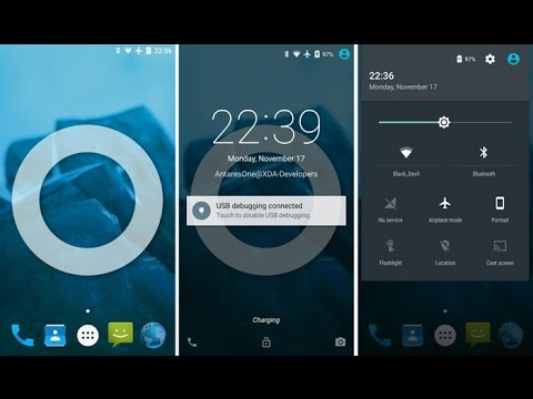 Cyanogenmod (Android) On Amazon Fire Phone - YT