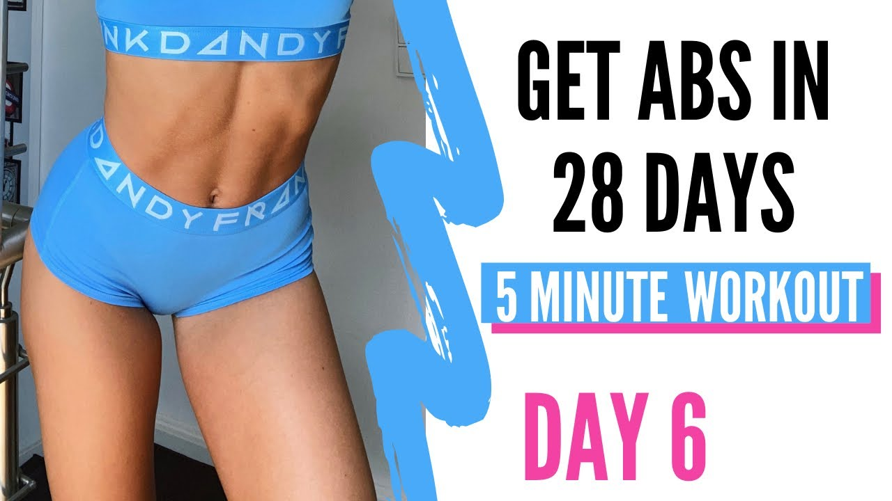 28 DAY ABS CHALLENGE | DAY 6 || LOWER ABS
