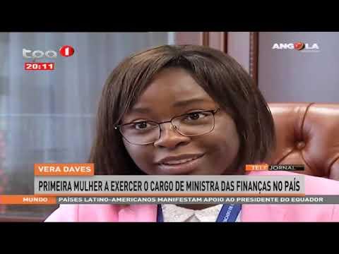 Vera Daves Primeira Mulher A Exercer O Cargo De Ministra Das Finanças No País