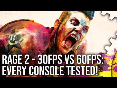 Rage 2 tech analysis: is 1080p60 the best use for Xbox One X and PS4Pro?