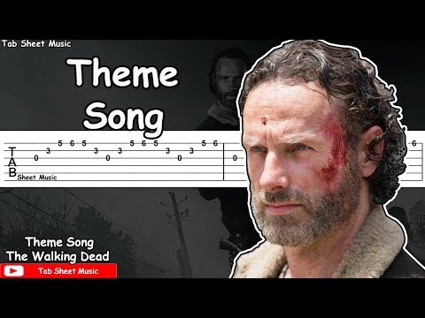 The Walking Dead - Theme Song Guitar Tutorial
