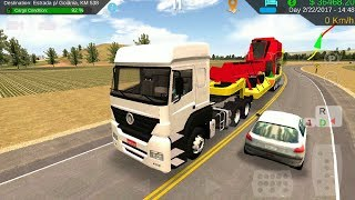 Heavy Truck Simulator - Colhedora Transport | Truck Trailer Games - Android iOS GamePlay FHD