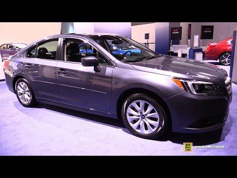 2016 Subaru Legacy - Exterior And Interior Walkaround - 2016 Detroit Auto Show