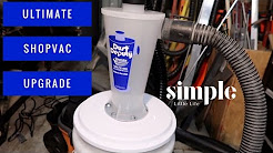 Tool Time Tuesday - Dust Deputy Cyclone Separator for your shop vac