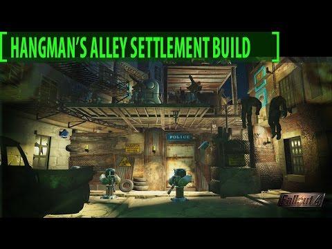 Fallout 4 Hangman's Alley 1.0 Settlement Tour