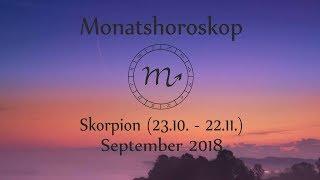 Horoskop Sternzeichen Skorpion: Liebe und Leben im September 2018