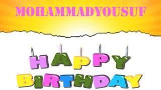MohammadYousuf Birthday Wishes & Mensajes