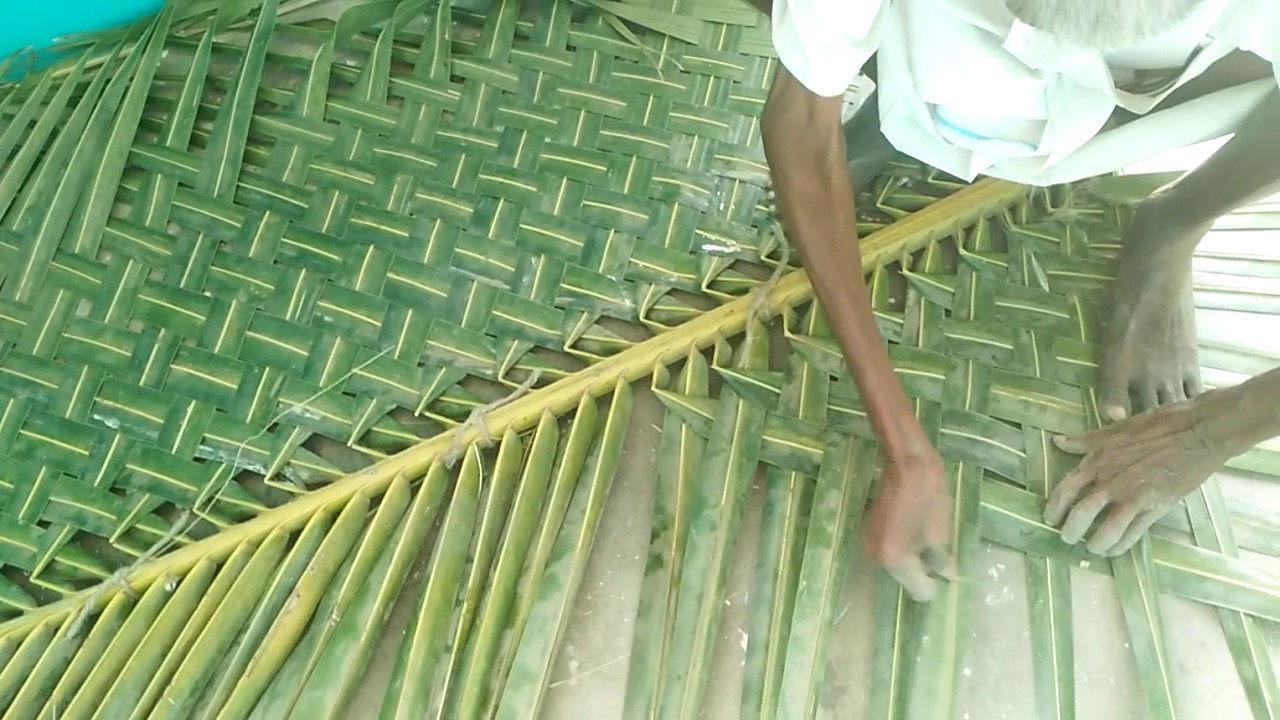 How To Make Coconut Leaf Youtube