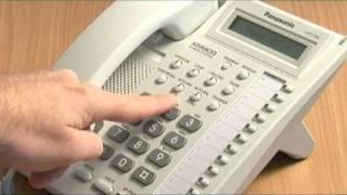 Panasonic KXTA KXTE system speed dials.mpg