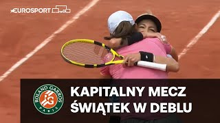 Iga Świątek i Bethanie Mattek-Sands w ćwierćfinale debla Roland Garros!