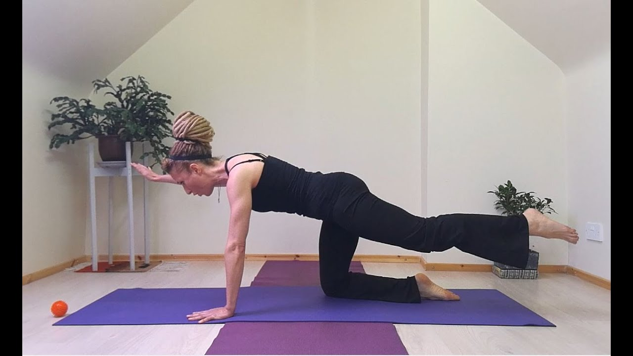 Pilates Quadruped Leg Extensions - Beginners Pilates - Stability & Alignment Exercise