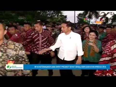 Presiden Joko Widodo Kunjungi Korban Pengungsi Gunung Agung