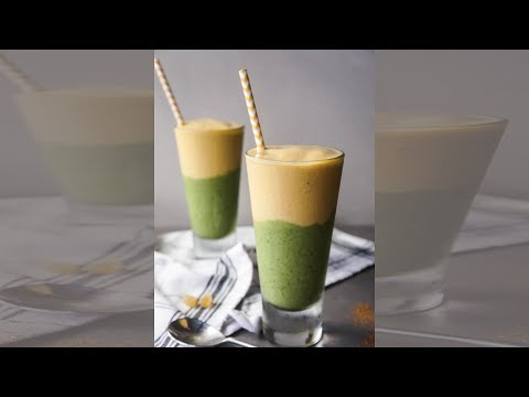 Pineapple Green Angel / Pineapple Mint Smoothie     Easy to Make Health Drink    Healthy Flavours