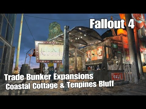 Coastal Cottage & Tenpines Bluff Trade Bunker Shops  - Fallout 4
