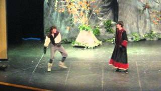 Robin Hood fight scene: Sheriff and Will