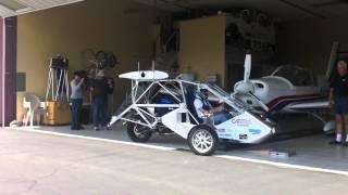 CaraVellair Reverse-Trike Roadable Aircraft at Santa Paula