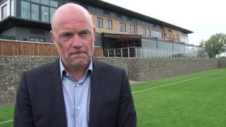 Uwe Rosler gives first interview as Fleetwood Town Head Coach
