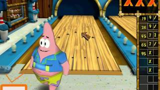 Spongebob Squarepants Level Bowling Buddies Walkthrough Gameplay Playthrough