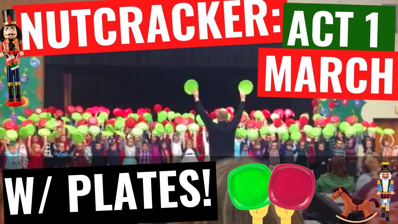Lapel Elementary 1st Grade Nutcracker Plate Routine & Lapel Elementary 1st Grade Nutcracker Plate Routine - YouTube