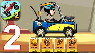 Hill Climb Racing 2: New Unlocked Engines Part 2 (iOS, Android)