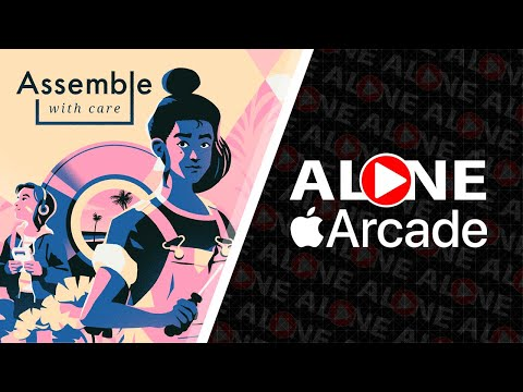 Assemble with Care - Геймплей | iOS |
