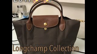 Longchamp Collection 2017, Size Comparison