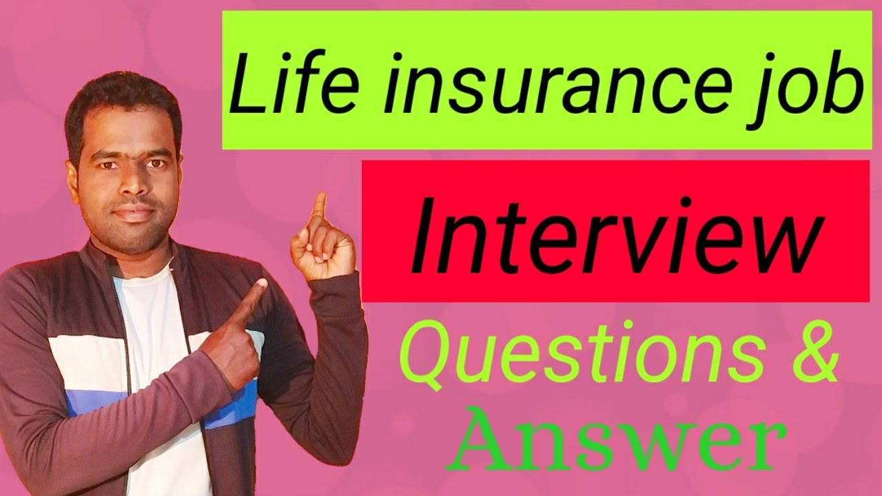 Life Insurance Job Question and Answer | Easy process | # ...