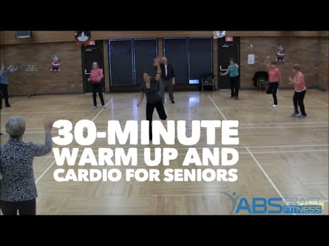 Warm up and Cardio exercise for older adults and seniors