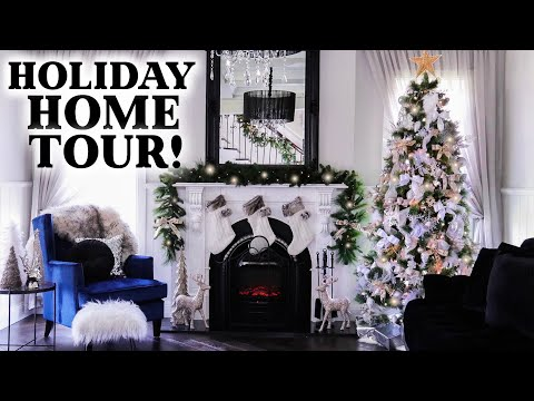 HOLIDAY HOME TOUR!!! CHRISTMAS 2018 HOLIDAY DECOR!!