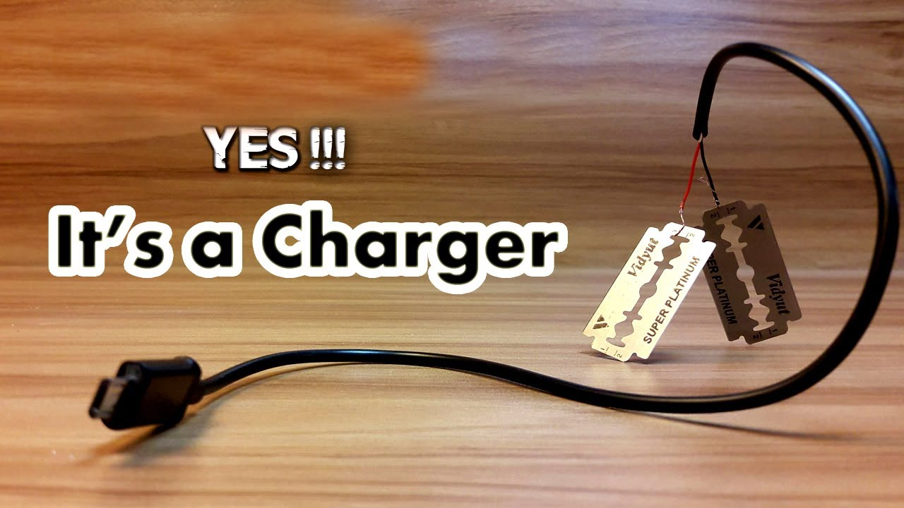 How to Charge your Phone using Blade -MrSaaf Ultimate ...