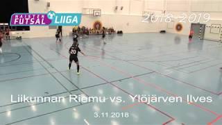 Naisten futsal-liiga 2018-2019 / Liikunnan Riemu vs. Ylöjärven Ilves maalikooste 3.11.2018