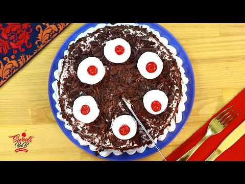 Black Forest Cake Recipe - How To Make Cake At Home By SweetsBnB