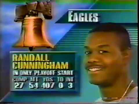 Los Angeles Rams vs Philadelphia Eagles 12/31/89 Playoffs
