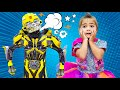 Mia and her robots - Collection of new Stories for Kids from Nastya Artem Mia